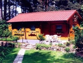 Lovely vacation villa at lake Templiner Stadtsee