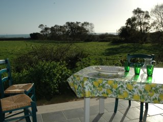 Lovely, well maintained house with sea view, just