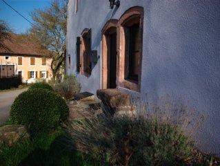 Großzügig renoviertes Bauernhaus in kleinem Dorf, Mittelgebirgslage
