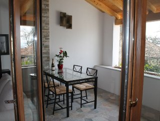 Charmantes, ruhig gelegenes 2-Zimmer-Ferienhaus (75 m2) mit Seeblick