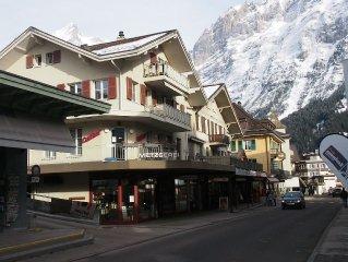 Familienfreundliche 5.5 Zimmerwohnung  160 m/2 im Dorfkern von Grindelwald