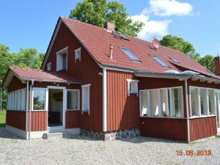 Gemütliches Schwedenhaus mit Kamin und Wintergärten zw. Rerik und Kühlungsborn