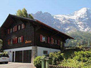 Gemutliche 21/2 Zimmer Ferienwohnung ,mit wunderschoner Sicht auf die Berge