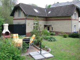 4 Sterne Ferienhaus am Ratzeburger See, Garten, Terrasse, Haustiere erlaubt
