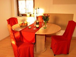 Tolle Ferienwohnung direkt am Schloss Pillnitz für Paare und Familien