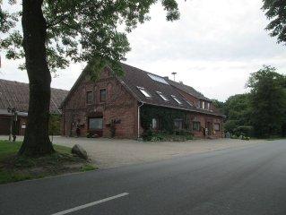 Comfortable apartment near the North Sea - Golf - Biking in the Elbe-Weser tria