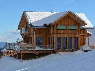 Exklusives Wellness Chalet im Skigebiet, Sauna, Jacuzzi, Dampfdusche