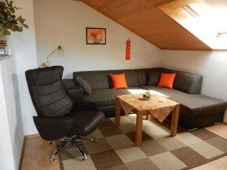 Gemütliche 4-Sterne-Komfort-Ferienwohnung mit super Bergblick