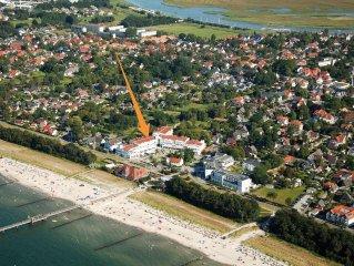 Ferienwohnung mit Meerblick an der Seebrucke nur 30 Meter zum Strand