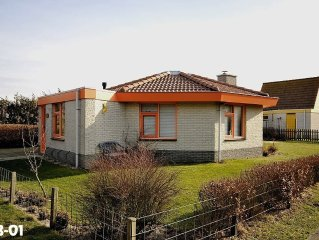 TOP - feel-good holiday bungalow for 6 persons / 3 bedrooms..-WLAN- Walk to the