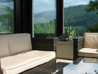luxury holiday home with jacuzzi tub and big terrace, wonderful view