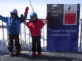 3.5 Zi. Dachwohnung mit atemberaubendem Matterhornblick, Skiurlaub, 4 Personen