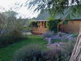 Idyllic holiday home for 2 to 4 people, 11 km from Boltenhagen