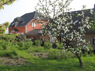 Big vacation apartment in the Valley of Loreley, with view upon the Rhine Valley
