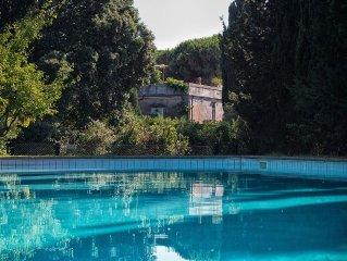 Historische Fattoria aus dem 18. Jahrhundert mit herrlichem Garten und Pool