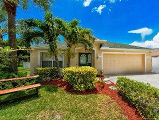 Traumhaus mit sonnigem Pool, wenige Minuten nach Fort Myers Beach und Sanibel