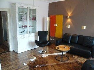 Altstadthaus Ritter 'BELLE ETAGE'/1A-Lage, Fußgängerzone/2 Schlafzimmer/Aufz