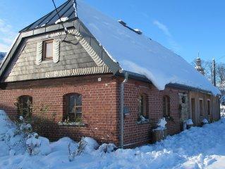 Romantisches, liebevoll restauriertes Bauernhaus im Vogtland