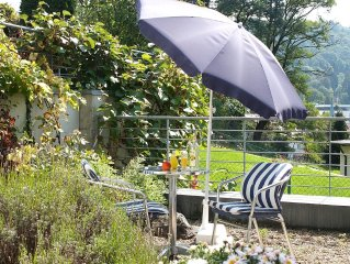Mini-apartment at the Sonnhalde m. small garden * Very good residential area in