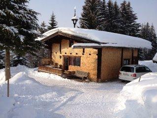 romantische Berghutte in den Kitzbuhler Alpen fur Schi und Wanderurlaube.