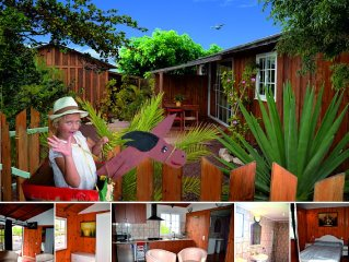 Eco-bungalow for up to 6 people, large bathroom, terrace on the south-east of T