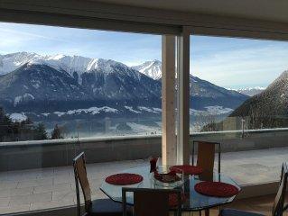 Moderne Ferienwohnung mit traumhaftem Panoramablick