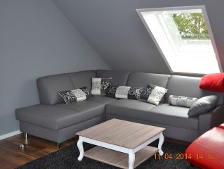 Komplett renovierte Maisonette-Wohnung über 2 Etagen im Landhaus-Stil