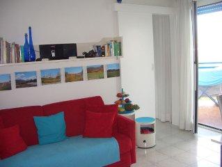 Ferienappartement ,großer, überdachter Balkon, am Meer, Klimaanlagen, Parkplatz