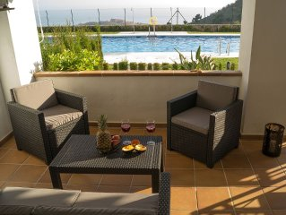 """""""Balkon zum Meer"""" Costa del Sol 120m² Wohnung mit unvergesslicher Aussicht & Poo"""