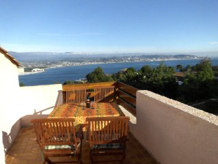 4 room villa for 5 people with a fantastic view o