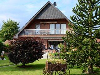 FEWO-NORDSEE-TOSSENS - neue gemütliche 70 m² Wohnung bis 4 Personen incl. WLAN