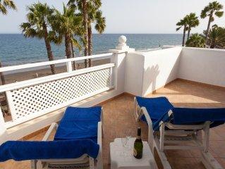 Bahía Feliz - Exklusives Haus direkt am Meer in ruhigem Ferienort, 6 Personen