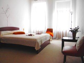 Zentrumsnahe 3 Raum Gästewohnung , geeignet für 1- 6 Personen
