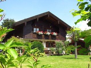 Die malerische Ferienwohnung im Herzen von Bad Wiessee (94 qm) bis 5 Personen