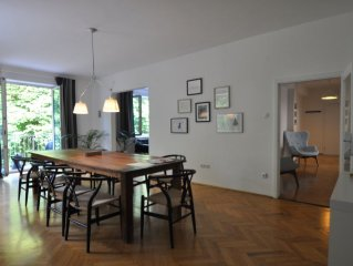 130 m2 Altbauwohnung im Herzen der Salzburger Altstadt.