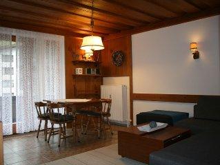 Ruhig aber zentral gelegenes 2-Zimmer-Appartement für 2 - 5 Personen mit Balkon