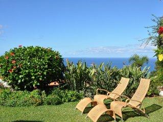 Komfortables Ferienhaus mit herrlichem Garten und Pool direkt am Atlantik