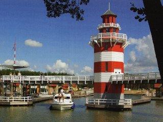 Inselhaus S18 im Yachthafen vom Hafendorf Rheinsberg