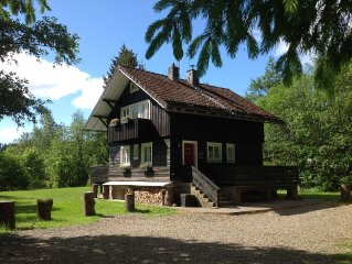 Exclusive house with sauna and fireplace. Zentrumsnahe secluded location!