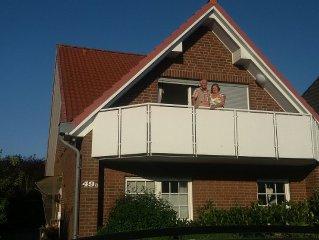Grosszügige Ferienwohnung für 2 - 4 Personen direkt in Cuxhaven-Duhnen