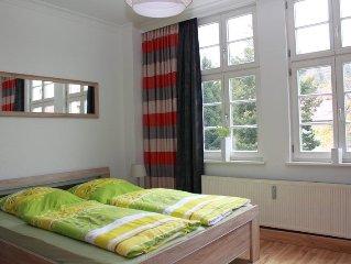 Neu eingerichtete FeWo in Jugendstillvilla mitten in Wernigerode - max. 4 Pers.