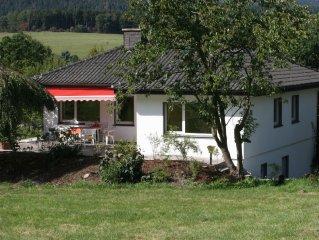 Geniessen Sie Urlaub im Landhaus AnnaLisa, wenige Meter vom Diemelsee entfernt