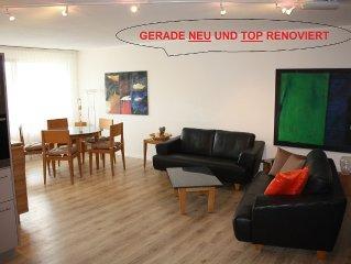 top renovierte Wohnung mit Wellness im 4-Sterne-Hotel
