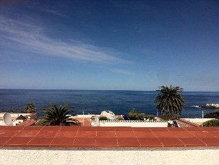 Freistehendes Ferienhaus mit Blick auf Meer, Teide und Puerto de la Cruz