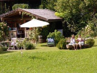 zentral, sonnig,unverbaute Lage,herrlicher Garten,Schigebiet, Langlaufloipe.