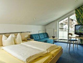 Appartement im 4 Sterne Aparhotel mitten in Ischgl