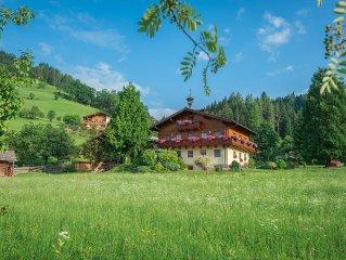 Bauernhof,Kleintiere,Garten,Spielplatz,inklusive Schwimmbad,Ski Amade,Teich