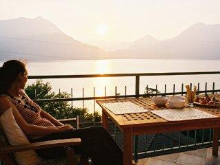 Ferienwohnung mit Panorama-Sicht auf Comer See