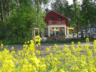 Urgemutliche FeWo in Ostseenahe, kleiner Garten zum Grillen