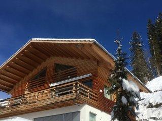 Großzügige, helle Attika-Wohnung mit  grosser Terrasse gegen Süden und Osten